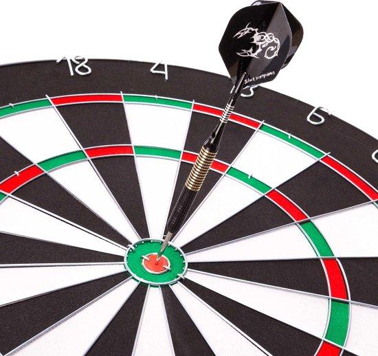 Thumbnail van een extra afbeelding van het spel #DoYourDart - 3x Steeldarts   - »Scorpion« - incl. case + 3 extra flights. Aluminium Shafts, PET flights, koperen barrel - Gewicht darts: 20.7g - zwart