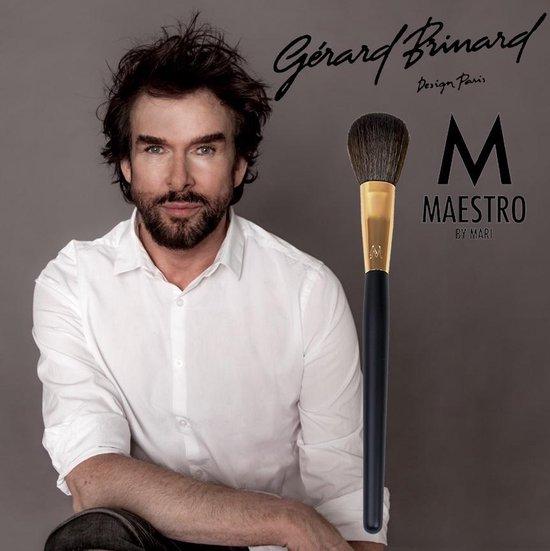 Maestro by Mari make-up kwast blusher kwast rose goud - synthetisch - Gerard Brinard