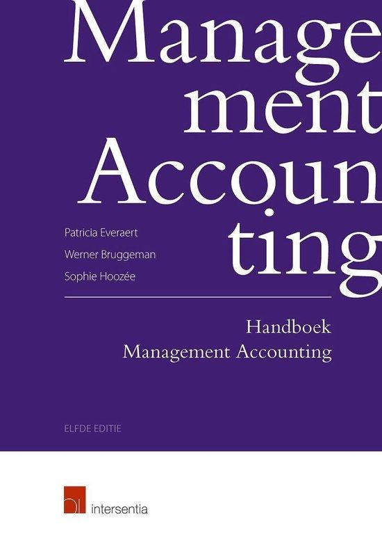 Handboek management accounting - Patricia Everaert |