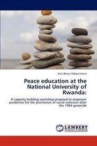 Peace Education at the National University of Rwanda