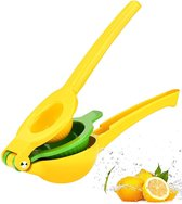 Citruspers - Limoenpers - Sinaasappel juicer - Handmatige Fruitpers - Metaal