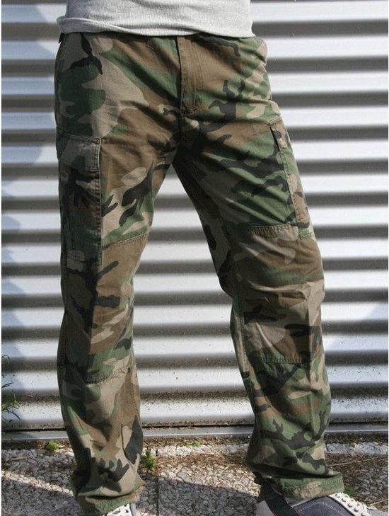 Spiksplinternieuw bol.com   Camouflage broek 100% katoen L XY-99