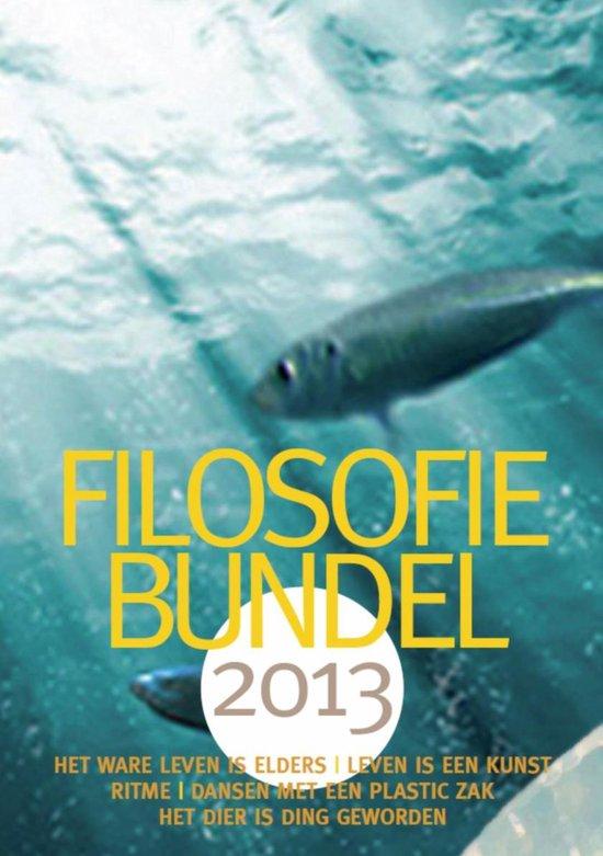 Boek cover Filosofiebundel / 2013 van Marijke Verduijn (Onbekend)