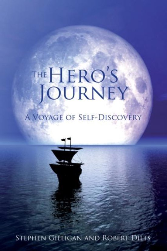 Boek cover The Heros Journey van Stephen Gilligan (Hardcover)