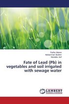 Fate of Lead (PB) in Vegetables and Soil Irrigated with Sewage Water