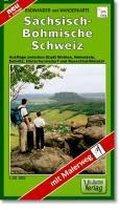 Wander- und Radwanderkarte Sächsisch-Böhmische Schweiz 1 : 30 000