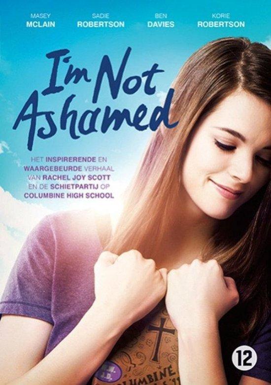 I'm Not Ashamed // DVD met verwerkingsmateriaal // waargebeurd verhaal.