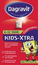 Dagravit Kids-Xtra 6-12 jaar Multivitaminen Voedingssupplement - 120 Kauwtabletten