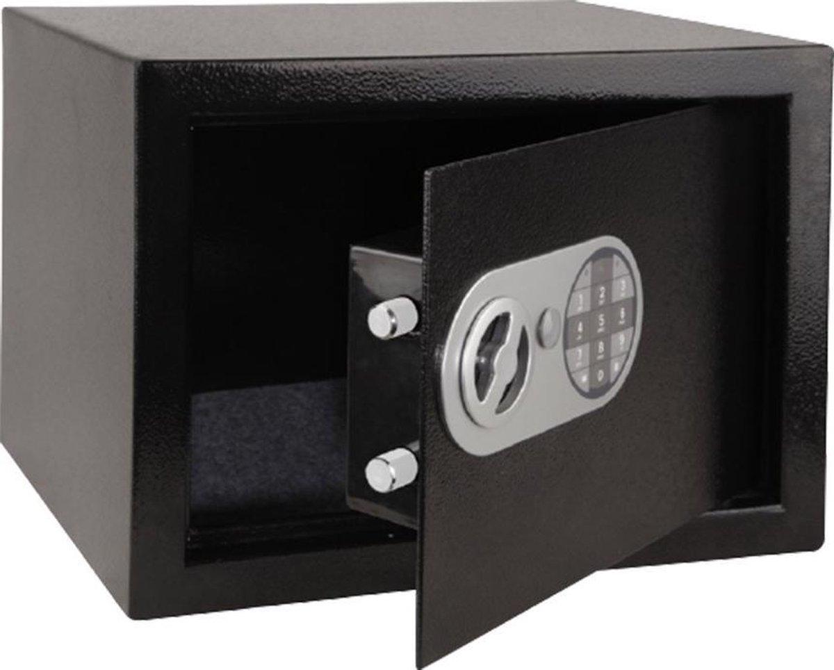 Stahlex Superlock - Elektronische Kluis met Persoonlijk Cijferslot & Sleutel (Tot 8 cijfers) - Wand/