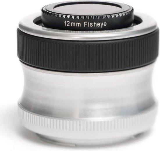 Lensbaby Scout lens + Fisheye Optik -  geschikt voor Olympus 4/3 spiegelreflexcamera's