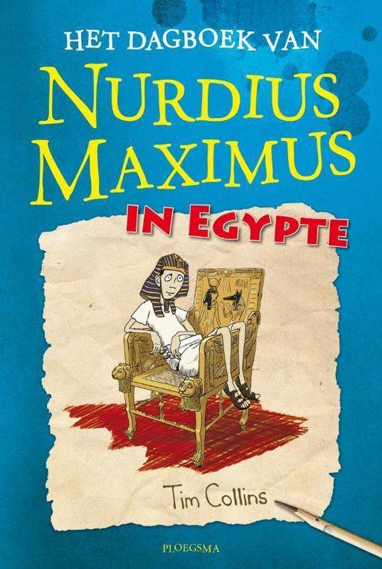 Nurdius Maximus - Het dagboek van Nurdius Maximus in Egypte - Tim Collins | Readingchampions.org.uk