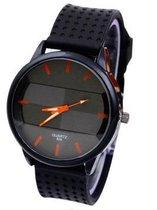 Otoky Horloge - Zwart/Oranje