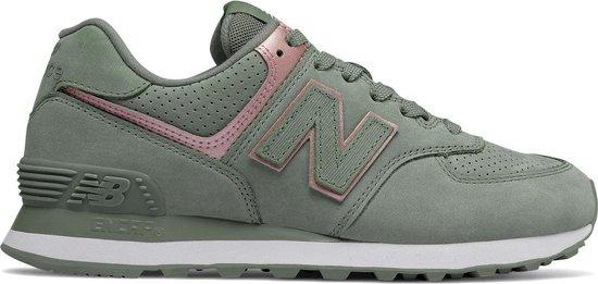 bol.com   New Balance - Dames Sneakers WL574NBL - Groen ...