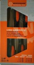 Werckmann 6 delige schroevendraaier set