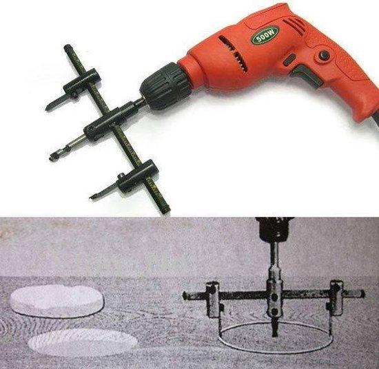 Hofftech Hardmetalen Cirkelsnijder / Schijvensnijder 30-120mm