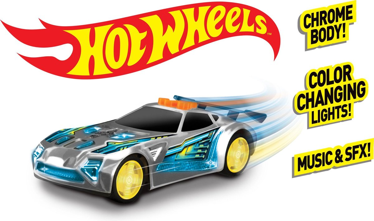Hot Wheels Edge Glow Cruiser Nerve Hammer - Hot Wheels