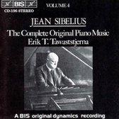 Sibelius - (4) Orig. Piano Iv