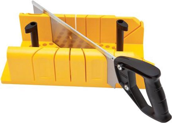Stanley 1-20-600 Verstekbak Kunststof met Kapzaag - 220mm