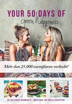 Boek cover Your 50 days of green happiness 1 van M von Carlsburg, T Moorman (Paperback)