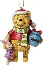 Disney Traditions Ornament Kersthanger Winnie &Piglet 9 cm