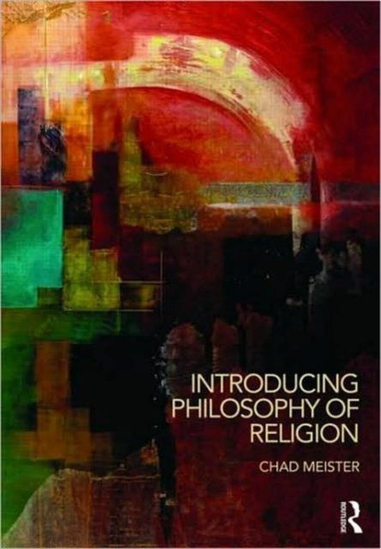 Boek cover Introducing Philosophy of Religion van Chad Meister (Paperback)