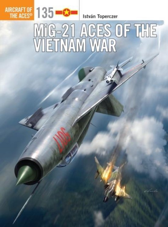 Boek cover MiG-21 Aces of the Vietnam War van Gareth Hector (Paperback)
