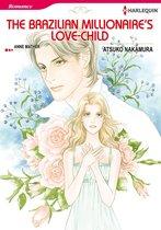 Omslag The Brazilian Millionaire's Love-Child (Harlequin Comics)