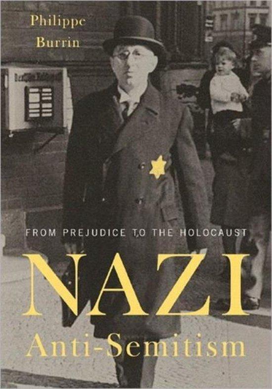 Boek cover Nazi Anti-Semitism van Philippe Burrin (Hardcover)