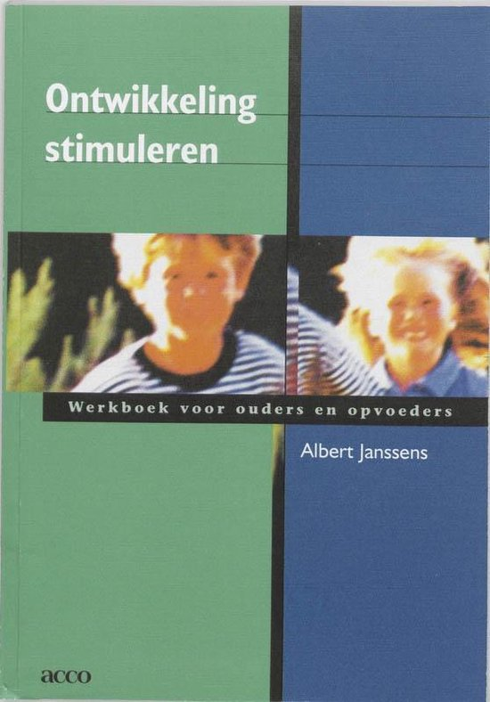 Ontwikkeling stimuleren Werkboek - A. Janssens   Fthsonline.com