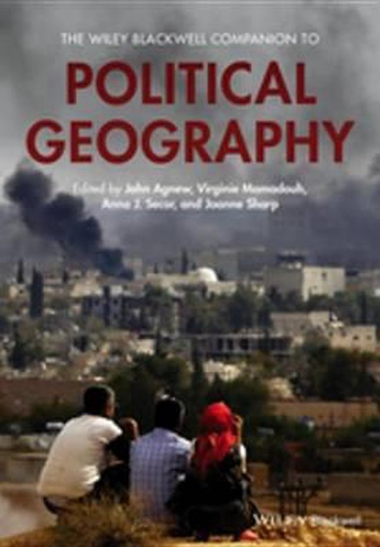 Boek cover The Wiley Blackwell Companion to Political Geography van Agnew, John A. (Onbekend)