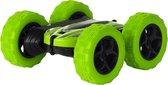 Wonky Cars - Stunt Car - 360° - RC - RC Auto - Bestuurbare Auto - Radiografische Auto - Groen