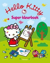 Boek cover Hello Kitty - Super kleurboek van