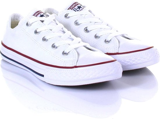 Converse Chuck Taylor All Star Sneakers Laag Kinderen - Optical White -  Maat 31