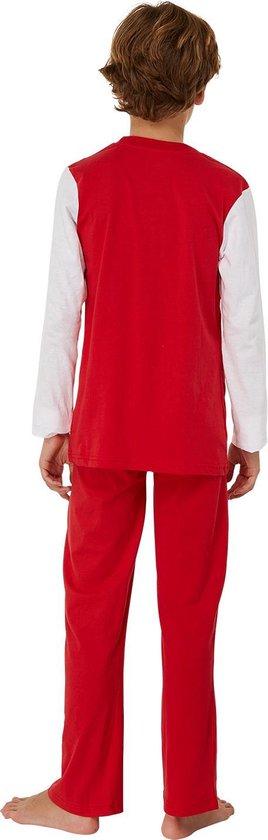Ajax pyjama kinderen - rood/wit - maat 116 - AFC Ajax