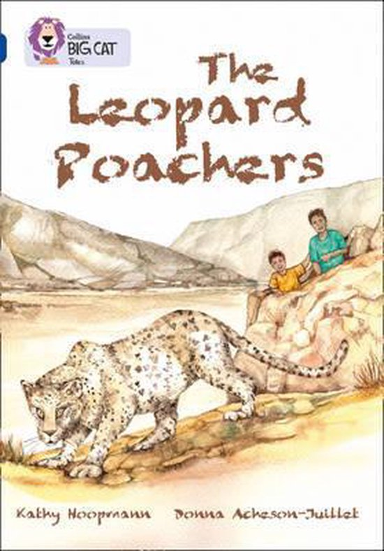 Boek cover The Leopard Poachers van Kathy Hoopmann (Paperback)