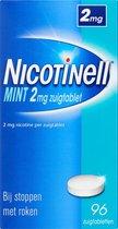 Nicotinell Mint 2 mg zuigtablet - stoppen met roken - 96 stuks
