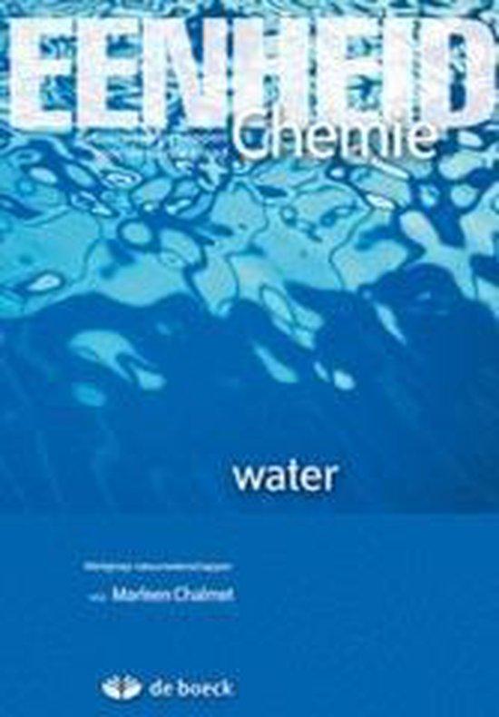 Afbeelding van Eenheid chemie: water - leerwerkboek