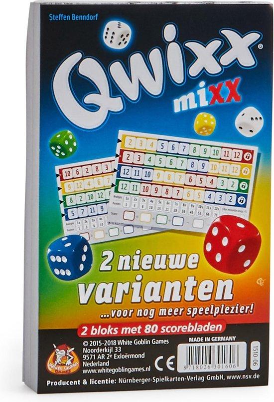 Qwixx Mixx - Uitbreiding - White Goblin Games
