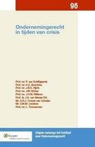 Uitgave vanwege het Instituut voor Ondernemingsrecht 097 - Ondernemingsrecht in tijden van crisis