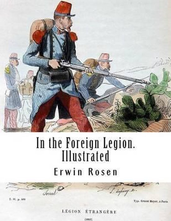 In the Foreign Legion. Illustrated