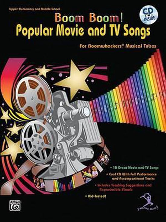 Boek cover Boom Boom! Popular Movie and TV Songs for Boomwhackers Musical Tubes: For Boomwhackers(r) Musical Tubes, Book & CD [With CD] van Gayle Giese (Onbekend)