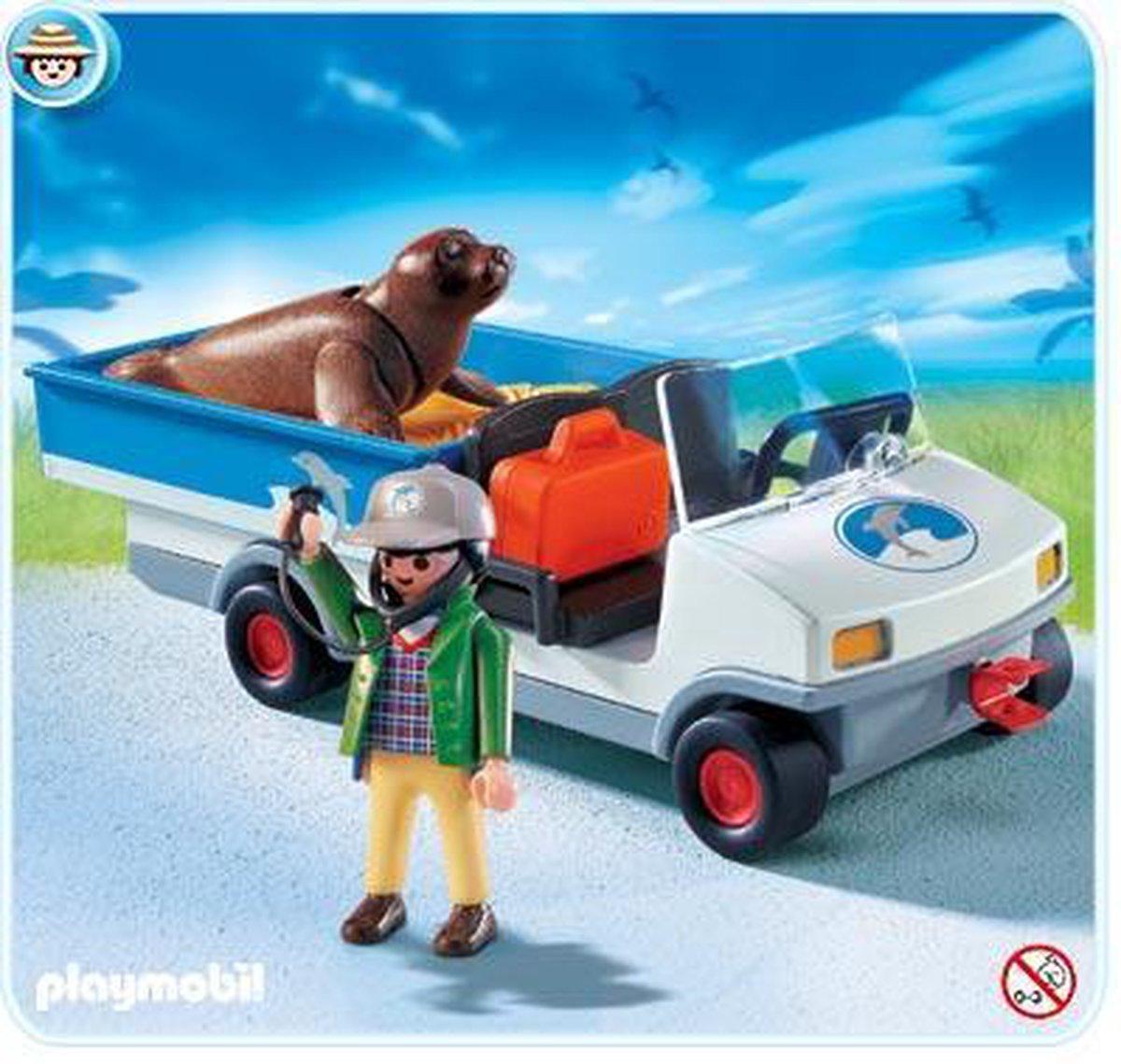Playmobil Zeeleeuwentransport 4464
