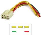 Stekker / Connector voor spanningsregelaar Honda CBR 400 & CBR400RR 1986 - 1994 CBR400 NC23 NC29 YMP-ST1