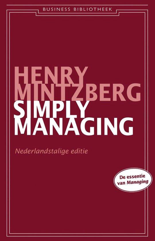 Simply managing - Henry Mintzberg  