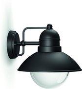 Philips Hoverfly Wandlamp - Zwart - 1x60W 230V