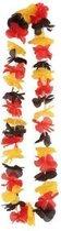 Hawaiikrans rood/geel/zwart