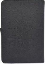 Universele tablet/laptop hoes tot 10.1 inch  Zwart Booktype hoesje - Magneetsluiting - Verschillende horizontale standen - Vegan leder - XLmobiel.n