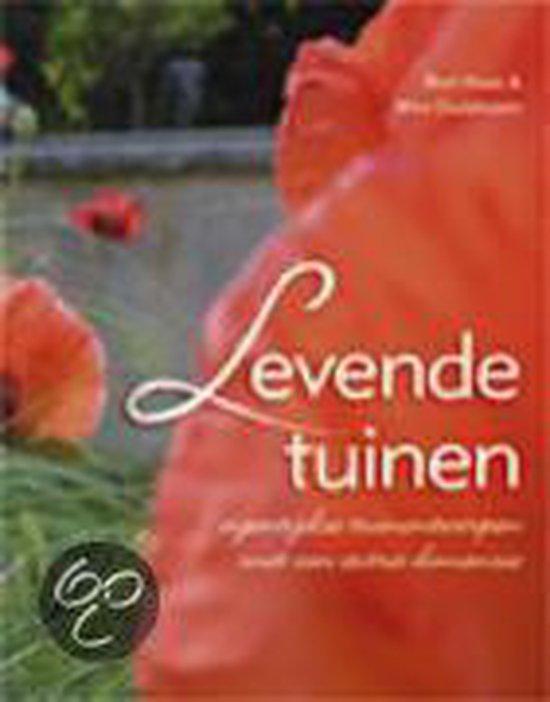 Cover van het boek 'Levende tuinen'