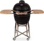 "Patton Kamado Grill Houtskoolbarbecue - 21"" - incl. Bluetooth control - Zwart"