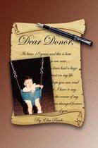 Dear Donor